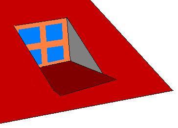Окно на крыше