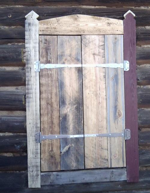 Дачные деревянные окна своими руками 87