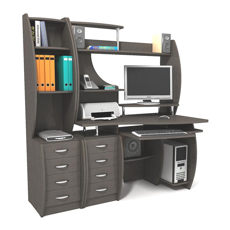 Компьютерный стол: виды и правила выбора.