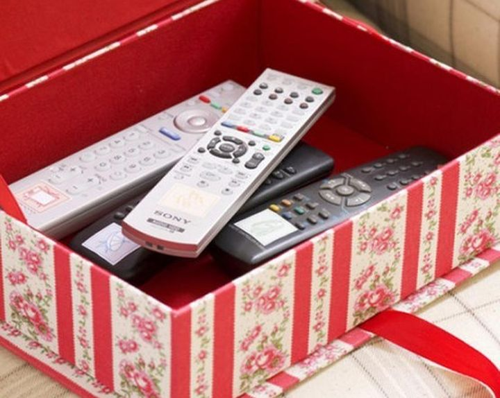 Коробки из картона для хранения мелочей