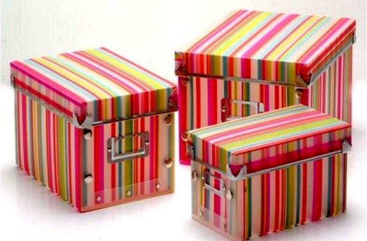 Красивые и удобные ящики своими руками