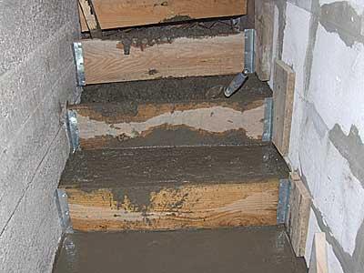Бетонная лестница в подвал, построенная своими рукамиLUX-DEKOR.RU - Портал о строительстве, ремонте и дизайне интерьеров LUX-DEK