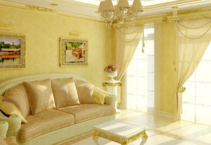 Живопись в классической гостиной