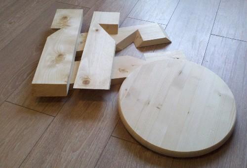Как самому сделать табурет из дерева