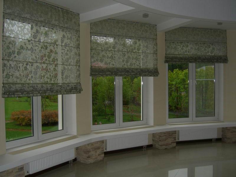 Римские шторы: фото и идеи 2016lux-dekor.ru - портал о строи.