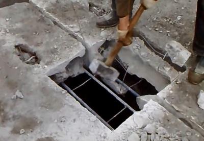 Как сделать люк в перекрытии из пустотных плит