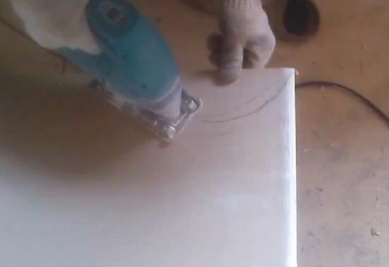 Как резать гипсокартон в домашних условиях своими руками