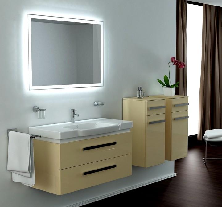 Зеркало в ванную комнату со светодиодной подсветкой