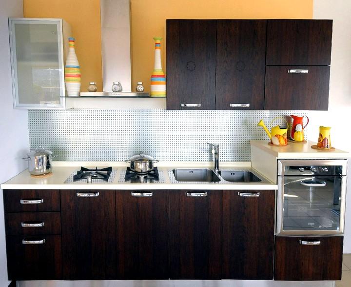 Кухонный гарнитур для маленькой кухни (3)