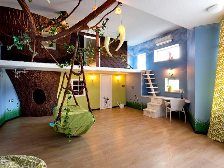 Комната-джунгли