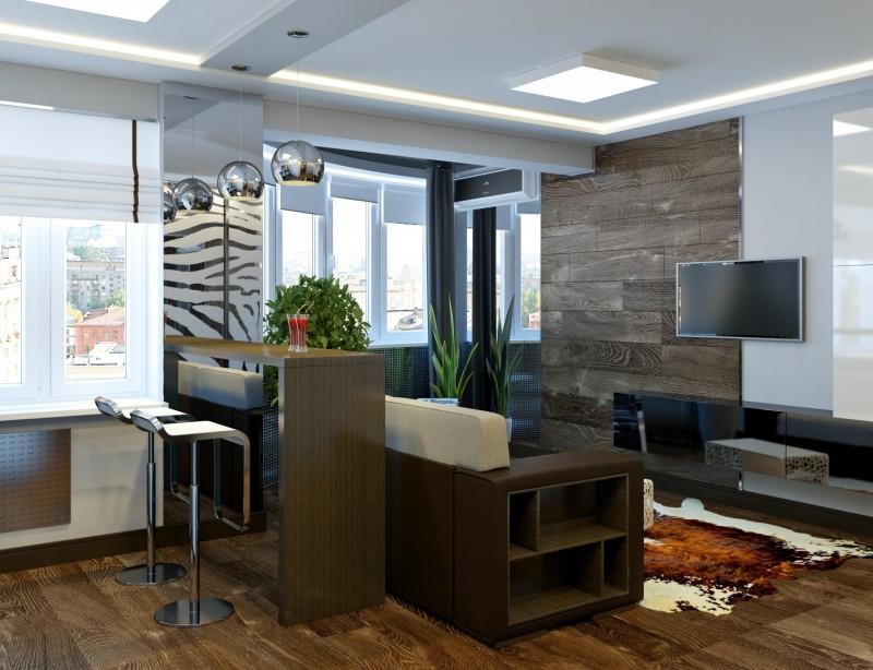 дизайн студии интерьера квартиры 9