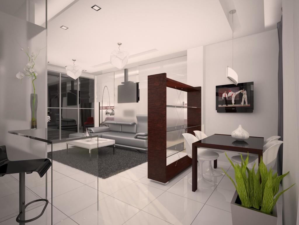 Стильная квартира-студия