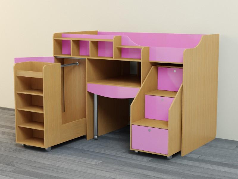 Кровать-чердак для ребенка