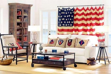 американский флаг 06