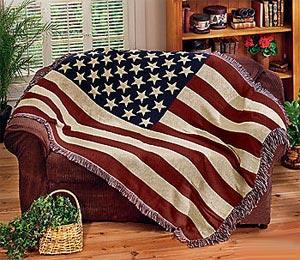 американский флаг 12