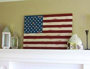 американский флаг 19