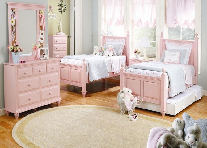 бело-розовый интерьер 24