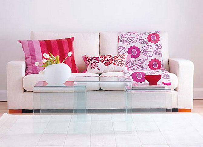 бело-розовый интерьер 26