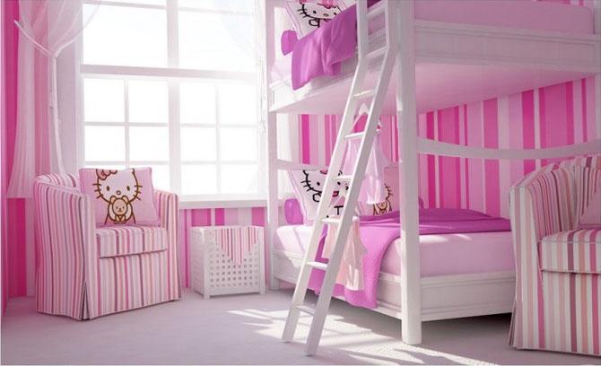 бело-розовый интерьер 42