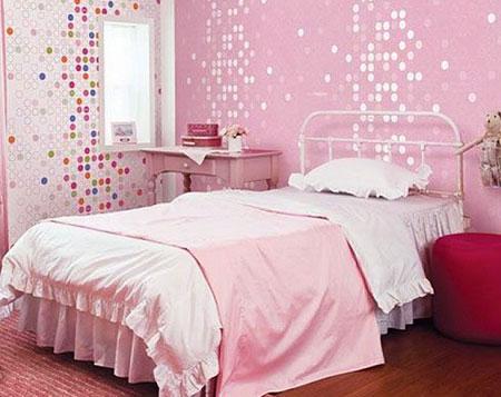 бело-розовый интерьер 47