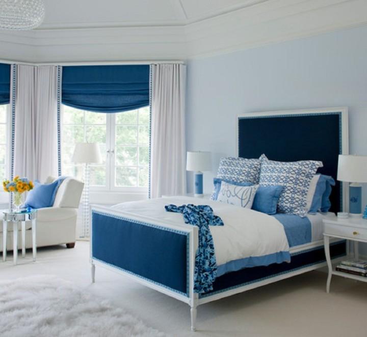 Римские шторы в спальню