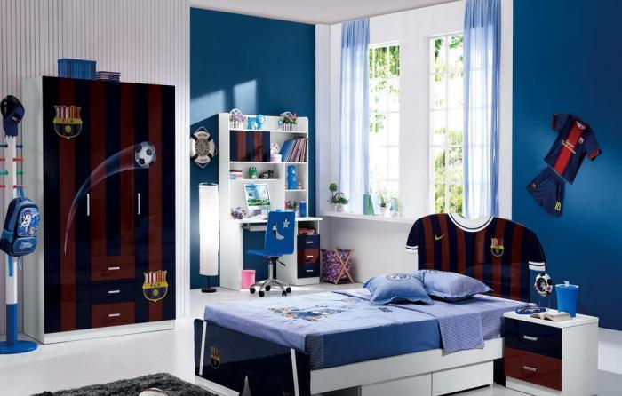 Фото детской комнаты для мальчика-подростка