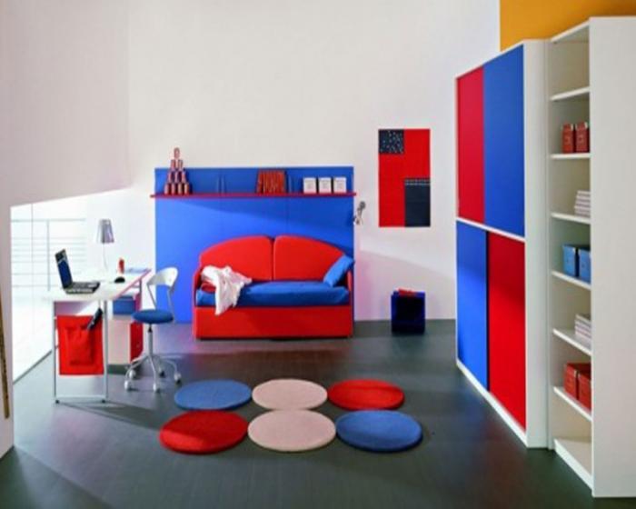 Комната для мальчика, стиль минимализм