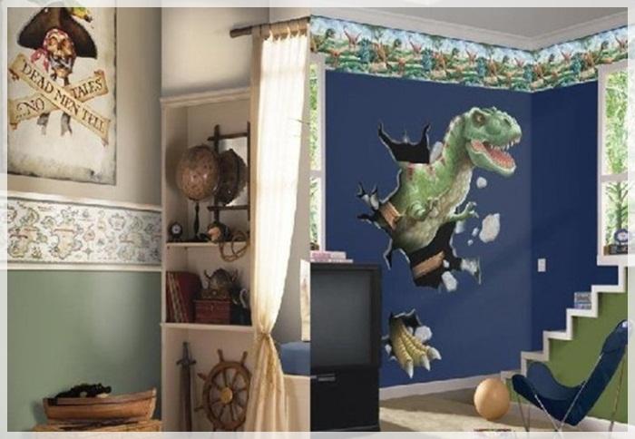 Фото детской комнаты для мальчика 7-8 лет