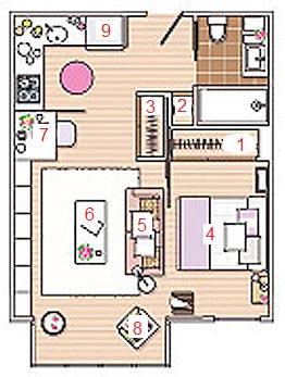 дизайн квартиры-студии 40 кв метров фото 91