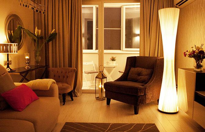 дизайн однокомнатной квартиры для молодой пары 007