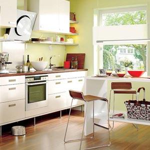 дизайн интерьер маленькой кухни 351
