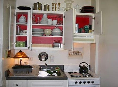 дизайн интерьер маленькой кухни 49