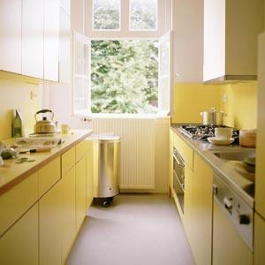 дизайн интерьер маленькой кухни 52