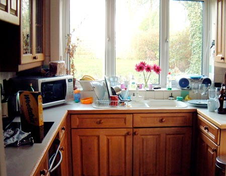 дизайн интерьер маленькой кухни 53