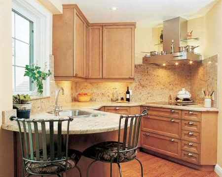 дизайн интерьер маленькой кухни 65