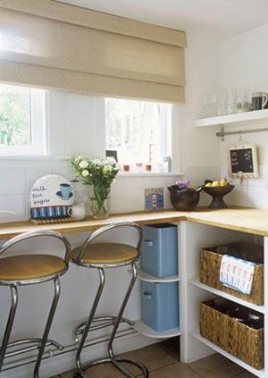 дизайн интерьер маленькой кухни 78