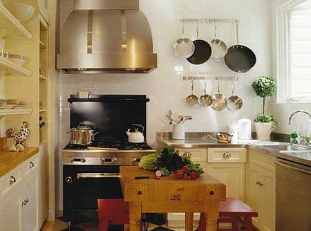 дизайн интерьер маленькой кухни 79