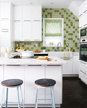 дизайн интерьер маленькой кухни 83