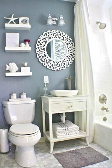 Дизайн туалета и ванной комнаты - фото 4