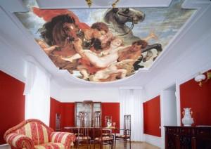 двухуровневые потолки фото 7