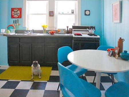 голубая кухня 05