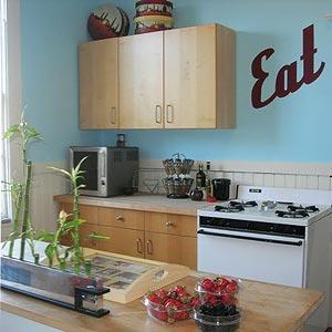 голубая кухня 09