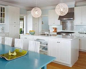 голубая кухня 12