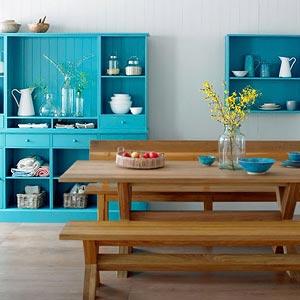 голубая кухня 14