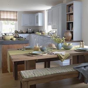 голубая кухня 15