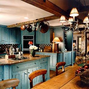 голубая кухня 18