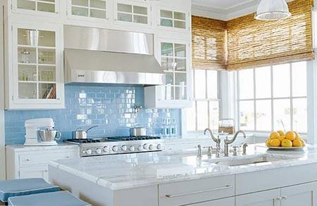 голубая кухня 20