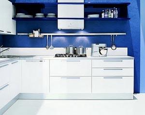 голубая кухня 23