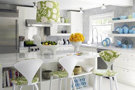 голубая кухня 26