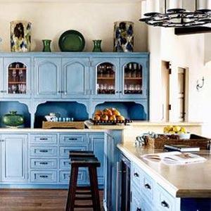 голубая кухня 28